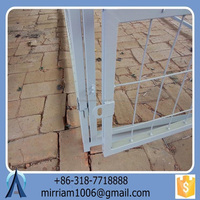 low price China Manufactruer high quality and easily assembled durable dog kennels cages/ pet cages