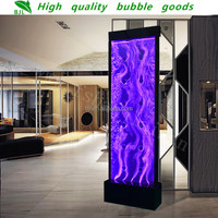 waterfall indoor home room divider led bar decoration