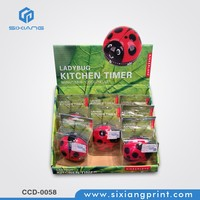 Paper Counter Top Display Unit Box For Kitchen Timer Or PVC Products