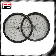 2015 toray T700 100% carbon fiber road bike wheelset, good performance 100% clincher carbon road bike wheelset