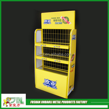 steel wire powder coating clothing metal display rack