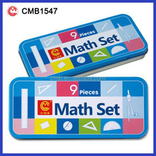 9pcs School Oxford Math Set