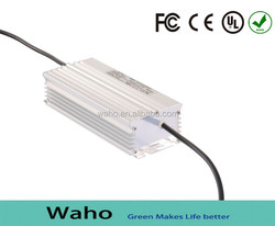 Waho 150w led driver dimmable IP67 single output approved by FCC UL RoHS and CE