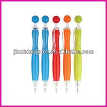 Various color ball pen/ beaded pen