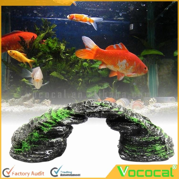 acuario submarino paisajismo resina tortuga reptiles terraza puente adornos accesorios