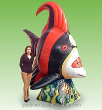 Giant10 Ft. Tall Inflatable Red Angel Fish/Giant Inflatable Animals