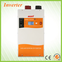 Solar heating system off grid system with charger controller mppt inverter