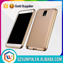 luxury tough armor metal aluminum knuckle case for samsung galaxy note 3