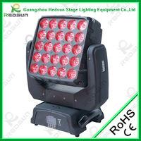 2016 Hot Sell Matrix LED RGBW 25x10w Pixel Beam Moving Head Light for Sale Stage Club Disco Club DJ