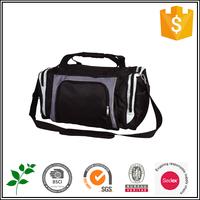 Custom canvas travel shoulder bag for men