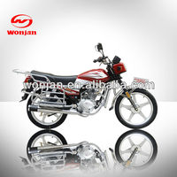 Fashion super gas 125cc street motorcycle made in china(WJ125-6)