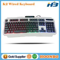 Professional Wired USB Backlit Multimedia LED Gaming Keyboard For Desktop