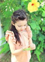The new female children's wear a T-shirt in the summer of 2015 model Pure cotton leisure t-shirts of the girls