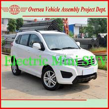 130km range maintenance-free electric suv car (supply skd/ckd kits)
