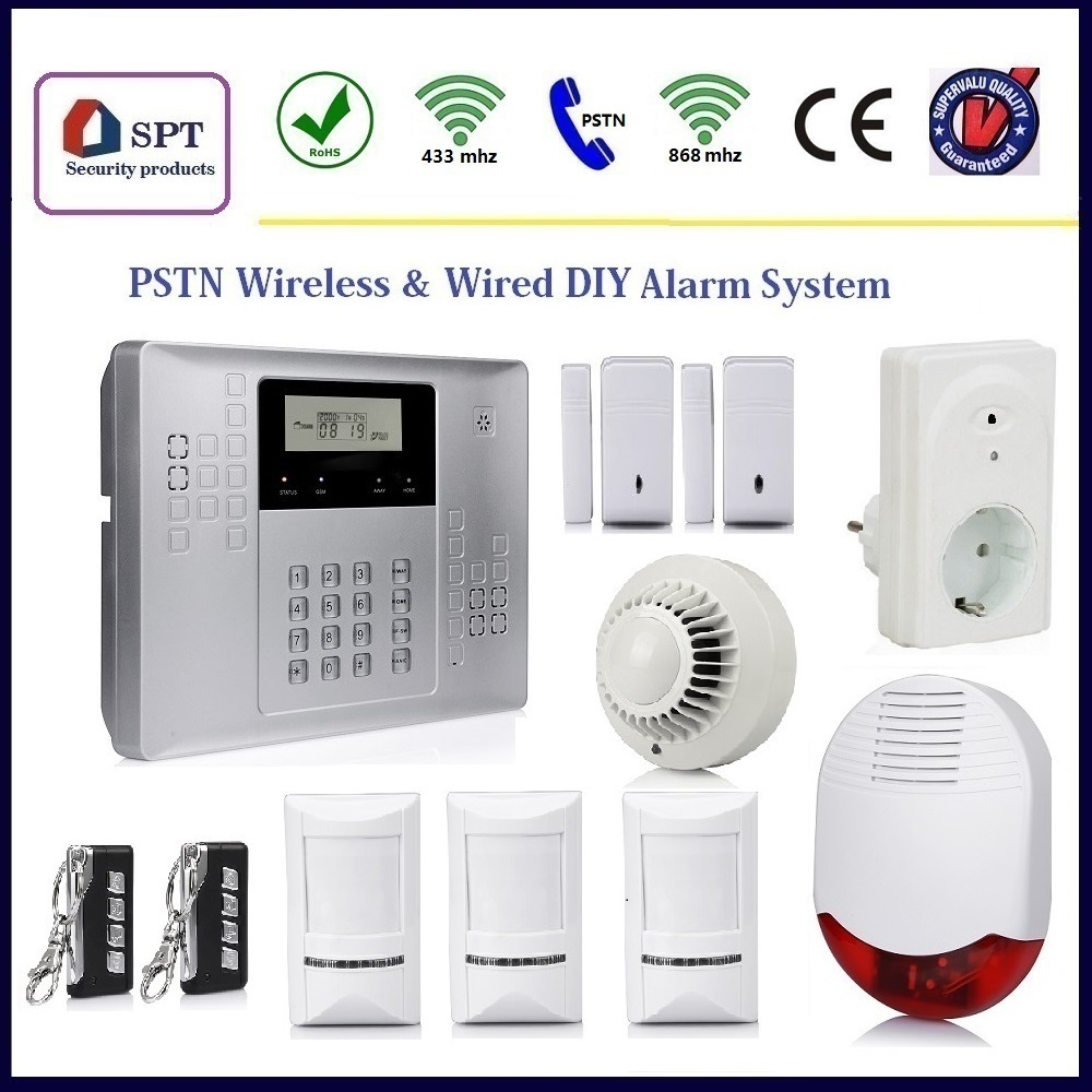 Security Low Current Systems,Intruder Burglar Alarm Kit,Smart Guard ...