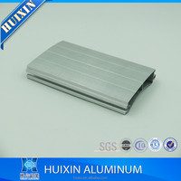 7-23 miu anodize aluminum profile extrude by 6063T5-6061T6 alloy aluminum for over 15 years life span
