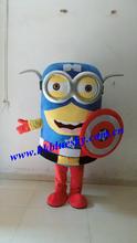 Professional Custom Captain America Minion Mascot Costume Custom Captain America Minion Mascot Costume