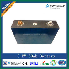 OEM LiFePO4 50Ah Lithium-ion Battery for E-car Rechargeable Battery