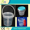 food grade 500ml transparent plastic bucket