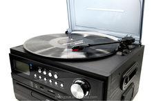 3 SPEED TURNTABLE WITH CD/MP3 PLYAER, PLL RADIO & USB/SD RECORDING