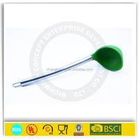 16cm Silicone safety feeding baby spoon GK002