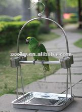 Top Outdoor Garden Metal Bird Cage Nest Parrot Play Stands Perch China Supply