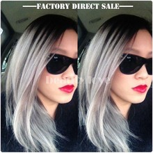 Latest Hot Sale Products Good Price Grey Human Hair Weaving Wholesale