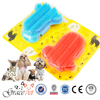 Pet Soft Plastic Grooming Glove Bath Massage Brush