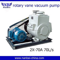 Durable quality CE approved 70L/s flow rate vacuum pump germany