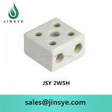 10A 2-pole high temperature ceramic terminal blocks