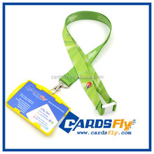 Plastic ID Card Heat Transfer Lanyard