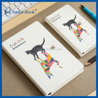A notebook with a CAT/Kitten Design on the front