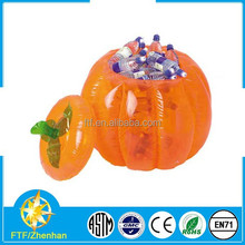 Cool inflatable pumpkin ice bucket