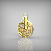 Aromatherapy Necklace Fine Perfume Bottle Pendant Unique Design Perfume Bottle Jewelry