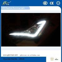 Hottest Sale LED Lamp led Source lighting/DRL with Fog lamp for Hyundai Elantra Auto LED Daytime Running Light Fog lamp(2014)