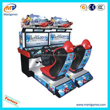 Top quality HD Outrun 2012/best sell coin video racing motor game machine