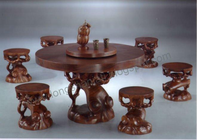 Bonsai mesa de comedor mesas de madera identificaci n del - Mesas para bonsai ...