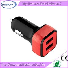 wholesale 2.1A/3.1A usb car charger High Quality USB Car Charger for mobile phone