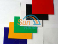 polystyrene sheet for printing with silk printing
