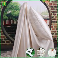 High grade 100% real silk bed sheet