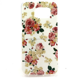 Soft sublimation tpu back cover diy phone case sbulimation tpu case for samsung S6