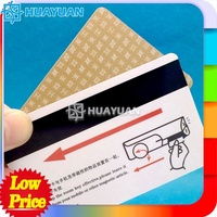 CR0 printing RFID plastic magnetic hotel key card for hotel lock