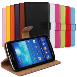 Genuine Leather Flip Case Stand Wallet Phone Case For Samsung Galaxy S6 Edge