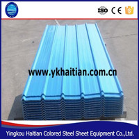 Steel Sheet Color Coat Galvanized Color Flat Roofing Tiles