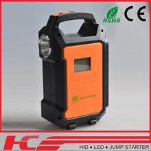 Best Selling military standard rechargeable 12v car jump starter v8 emergency light