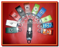 full real original chipset ,good h2 testing wholesale price leather 32gb usb flash drive with custom logo