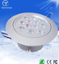 cheap ceiling lamps high cri led lights Aircarf-Aluminum 90-110 lm/w 12w sky star ceiling light shopping in taiwan