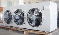 Water defrosting evaporative unit cooler for refrigeration