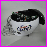 12 L Metal Helmet Charcoal BBQ Grill