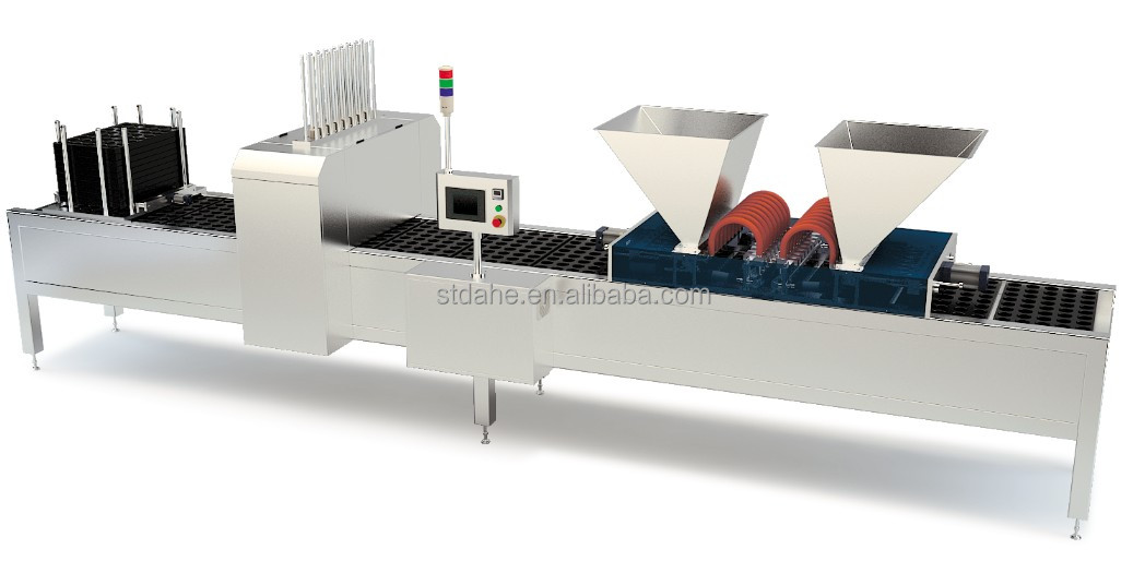 CE Proved Mould Trays Loading and Dispenser and Depositor 3 in 1Machine